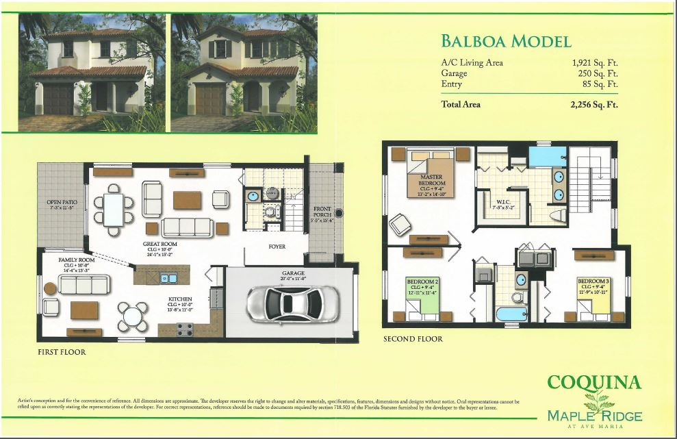 Coquina at Maple Ridge – Models Released – Accepting Reservations
